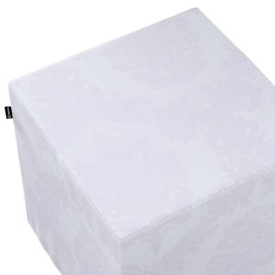 Bezug für Sitzwürfel 613-00 weiß  Kollektion Christmas