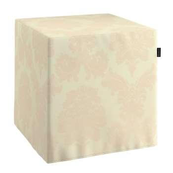 Bezug für Sitzwürfel Bezug für Sitzwürfel 40x40x40 cm von der Kollektion Damasco, Stoff: 613-01