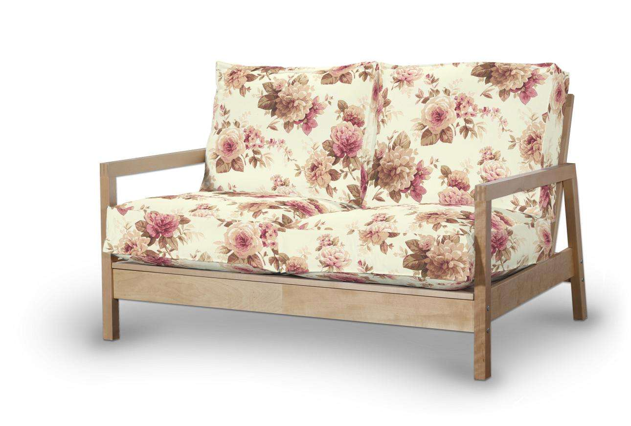Pokrowiec na sofę Lillberg 2-osobową nierozkładaną w kolekcji Mirella, tkanina: 141-06