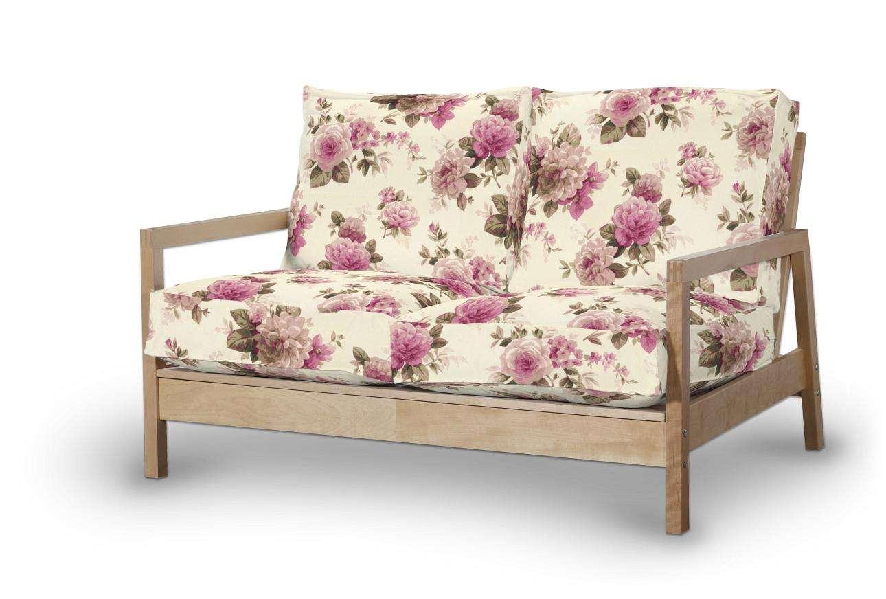 Pokrowiec na sofę Lillberg 2-osobową nierozkładaną Sofa Lillberg 2-osobowa w kolekcji Mirella, tkanina: 141-07