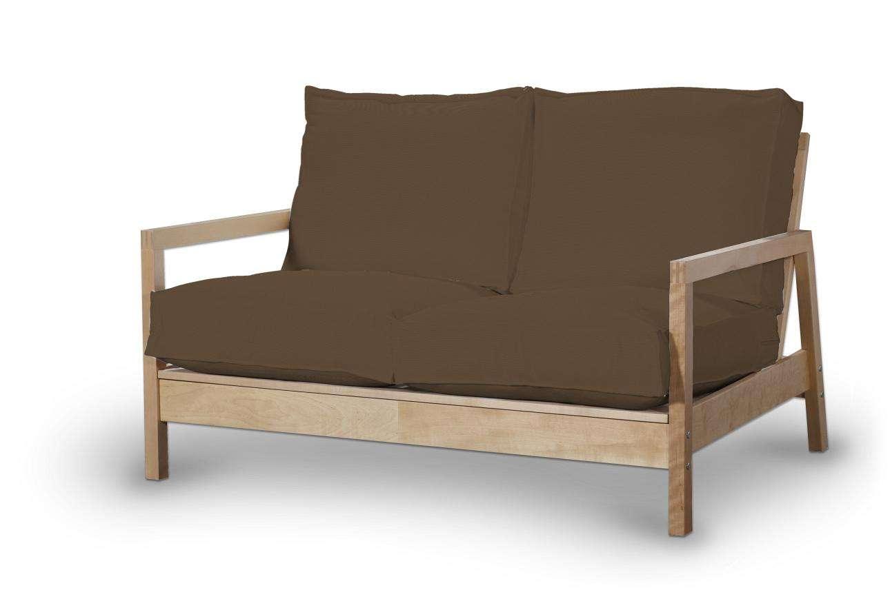 Pokrowiec na sofę Lillberg 2-osobową nierozkładaną w kolekcji Cotton Panama, tkanina: 702-02