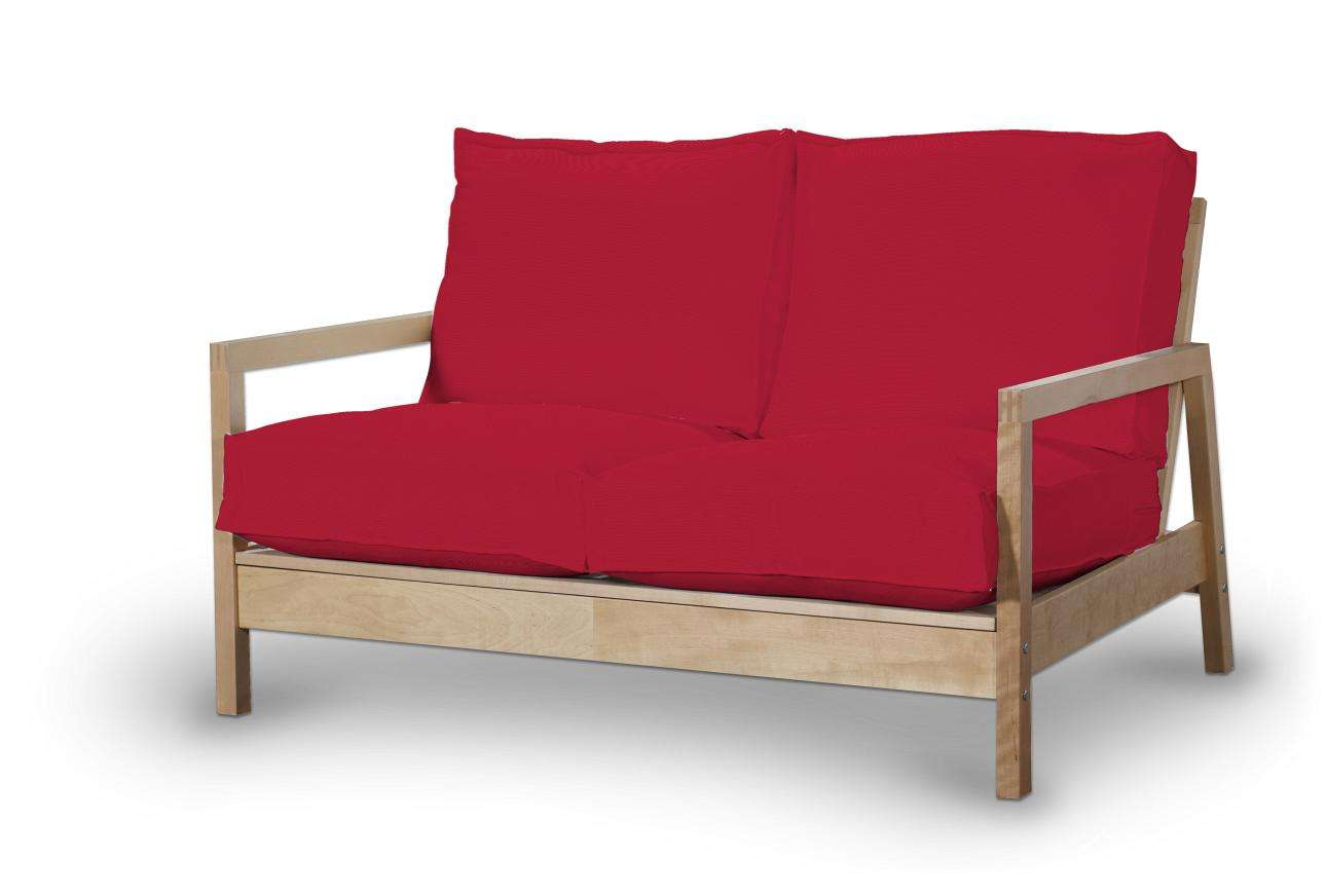 Pokrowiec na sofę Lillberg 2-osobową nierozkładaną w kolekcji Cotton Panama, tkanina: 702-04