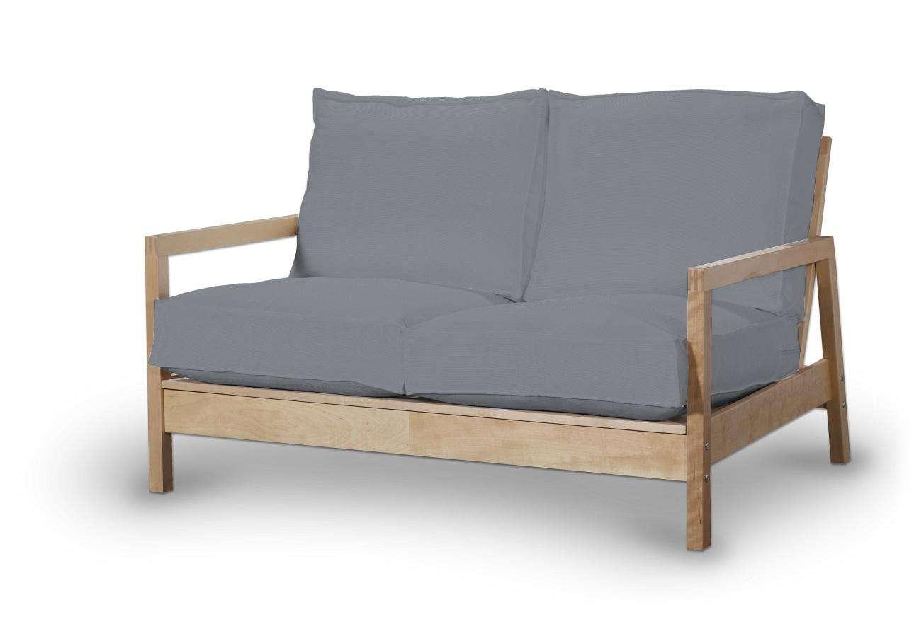 Pokrowiec na sofę Lillberg 2-osobową nierozkładaną Sofa Lillberg 2-osobowa w kolekcji Cotton Panama, tkanina: 702-07