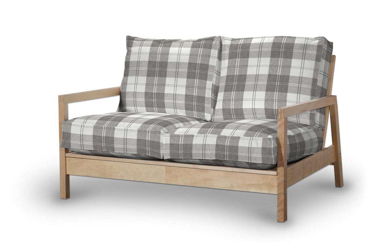 Pokrowiec na sofę Lillberg 2-osobową nierozkładaną w kolekcji Edinburgh, tkanina: 115-79