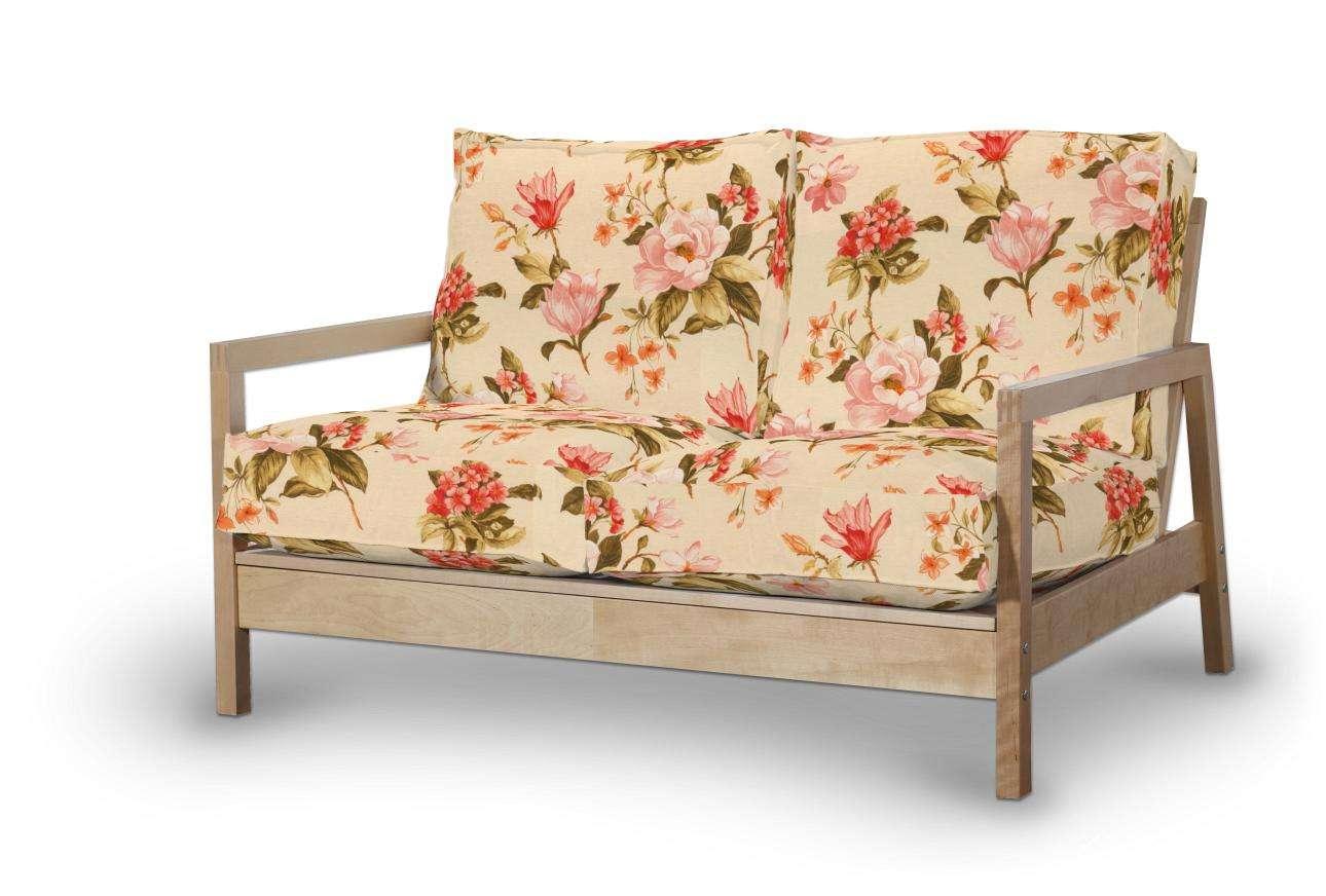Pokrowiec na sofę Lillberg 2-osobową nierozkładaną Sofa Lillberg 2-osobowa w kolekcji Londres, tkanina: 123-05