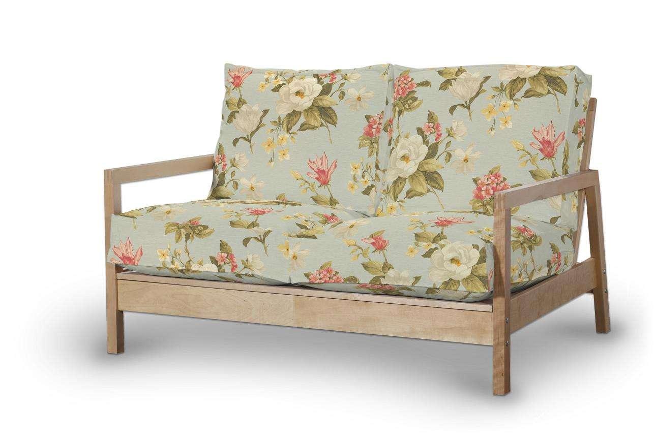Pokrowiec na sofę Lillberg 2-osobową nierozkładaną w kolekcji Londres, tkanina: 123-65
