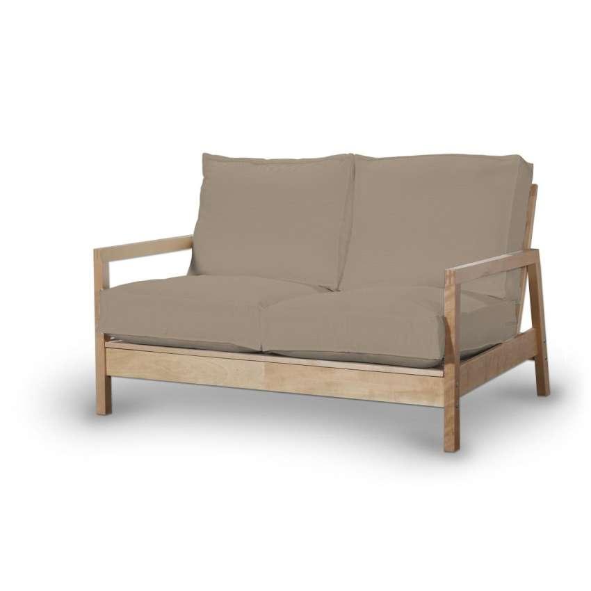 lillberg 2 sitzer sofabezug grau braun sofahusse. Black Bedroom Furniture Sets. Home Design Ideas