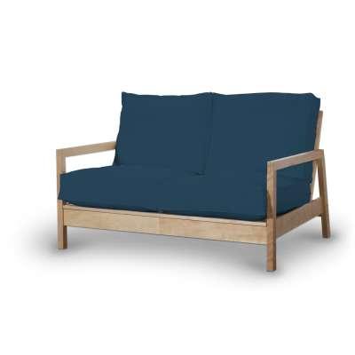 Pokrowiec na sofę Lillberg 2-osobową nierozkładaną w kolekcji Cotton Panama, tkanina: 702-30