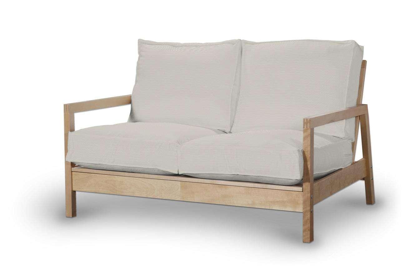 Pokrowiec na sofę Lillberg 2-osobową nierozkładaną w kolekcji Cotton Panama, tkanina: 702-31