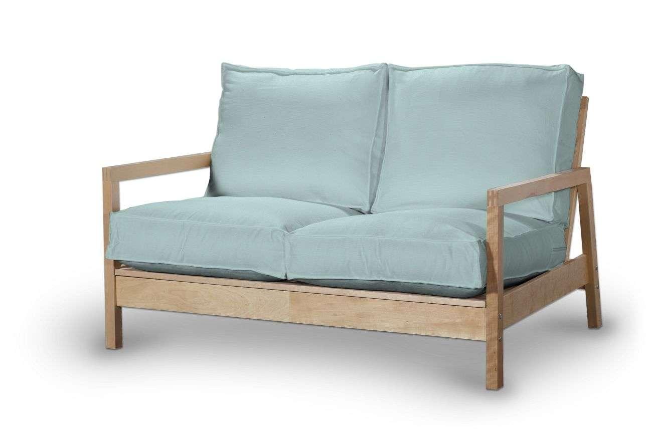 Pokrowiec na sofę Lillberg 2-osobową nierozkładaną Sofa Lillberg 2-osobowa w kolekcji Cotton Panama, tkanina: 702-10