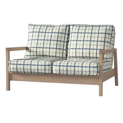 Pokrowiec na sofę Lillberg 2-osobową nierozkładaną w kolekcji Avinon, tkanina: 131-66