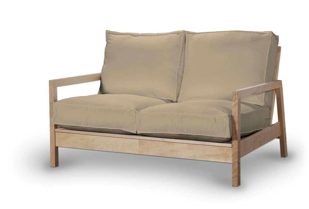 Pokrowiec na sofę Lillberg 2-osobową nierozkładaną w kolekcji Living, tkanina: 160-82