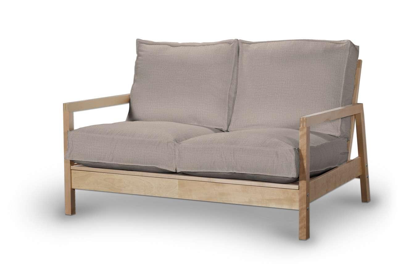 Pokrowiec na sofę Lillberg 2-osobową nierozkładaną w kolekcji Living, tkanina: 160-85