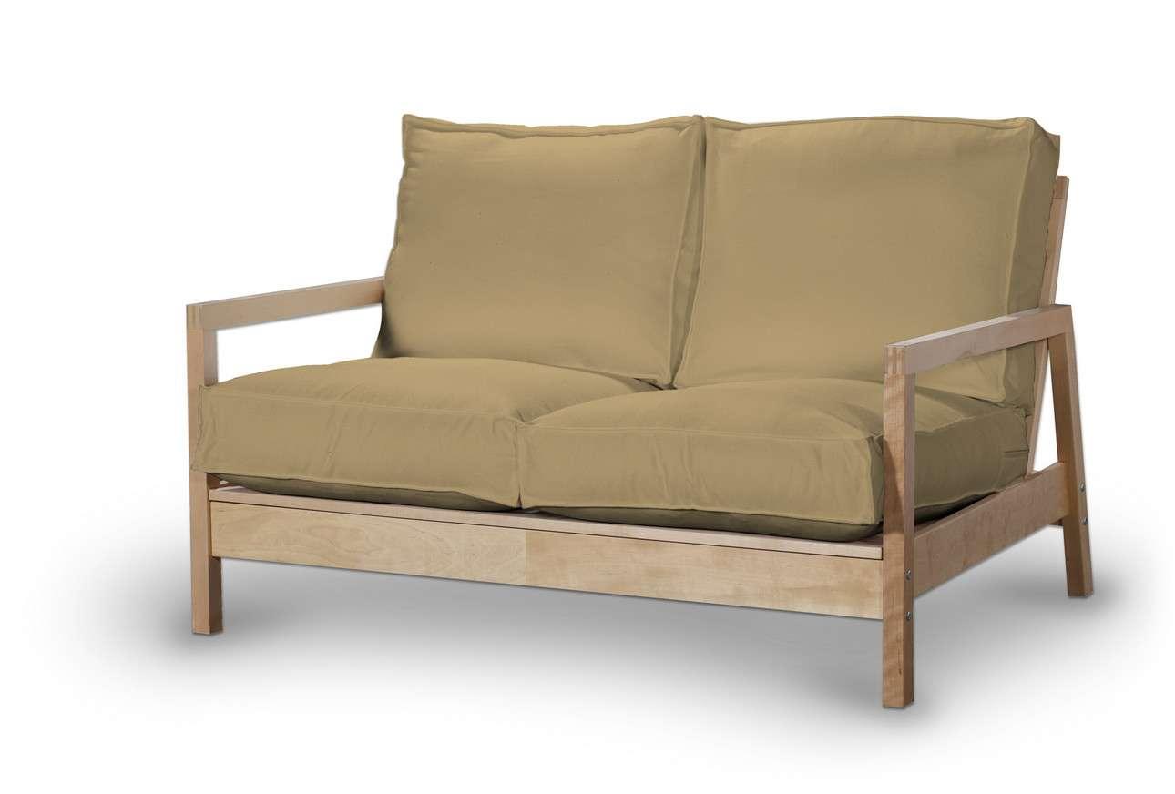 Pokrowiec na sofę Lillberg 2-osobową nierozkładaną w kolekcji Living, tkanina: 160-93