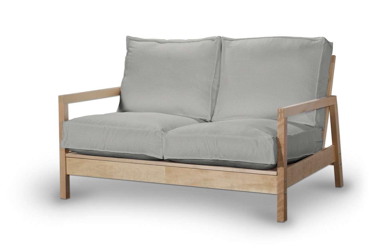 Pokrowiec na sofę Lillberg 2-osobową nierozkładaną w kolekcji Living, tkanina: 161-18