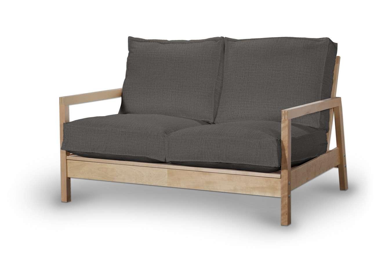 Pokrowiec na sofę Lillberg 2-osobową nierozkładaną w kolekcji Living, tkanina: 161-16