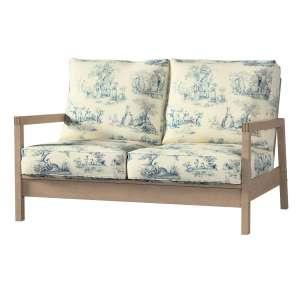 Pokrowiec na sofę Lillberg 2-osobową nierozkładaną Sofa Lillberg 2-osobowa w kolekcji Avinon, tkanina: 132-66