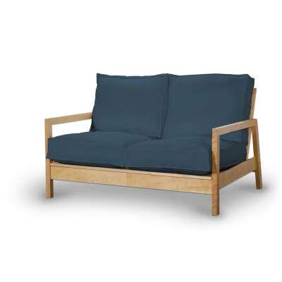 Pokrowiec na sofę Lillberg 2-osobową nierozkładaną w kolekcji Etna, tkanina: 705-30