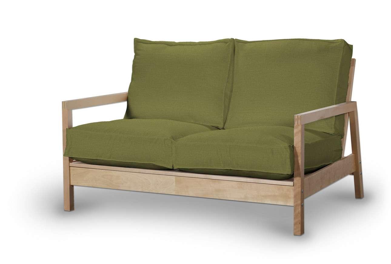 Pokrowiec na sofę Lillberg 2-osobową nierozkładaną w kolekcji Living, tkanina: 161-13