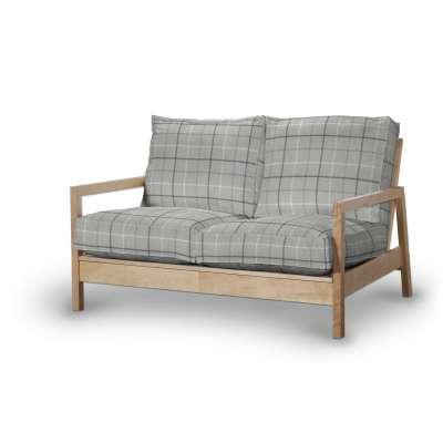 Pokrowiec na sofę Lillberg 2-osobową nierozkładaną w kolekcji Edinburgh, tkanina: 703-18