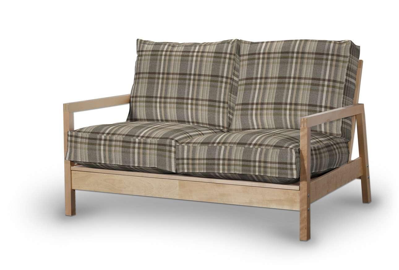 Pokrowiec na sofę Lillberg 2-osobową nierozkładaną w kolekcji Edinburgh, tkanina: 703-17