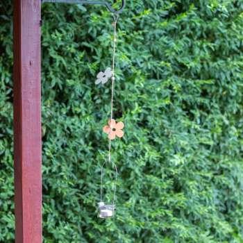 Ozdoba wisząca Orange Flower 63cm