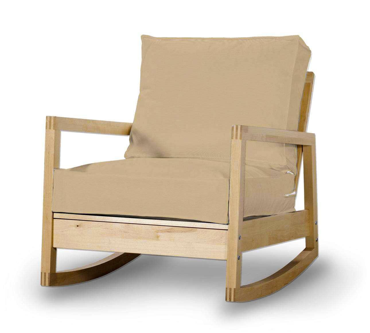 Pokrowiec na fotel Lillberg w kolekcji Cotton Panama, tkanina: 702-01
