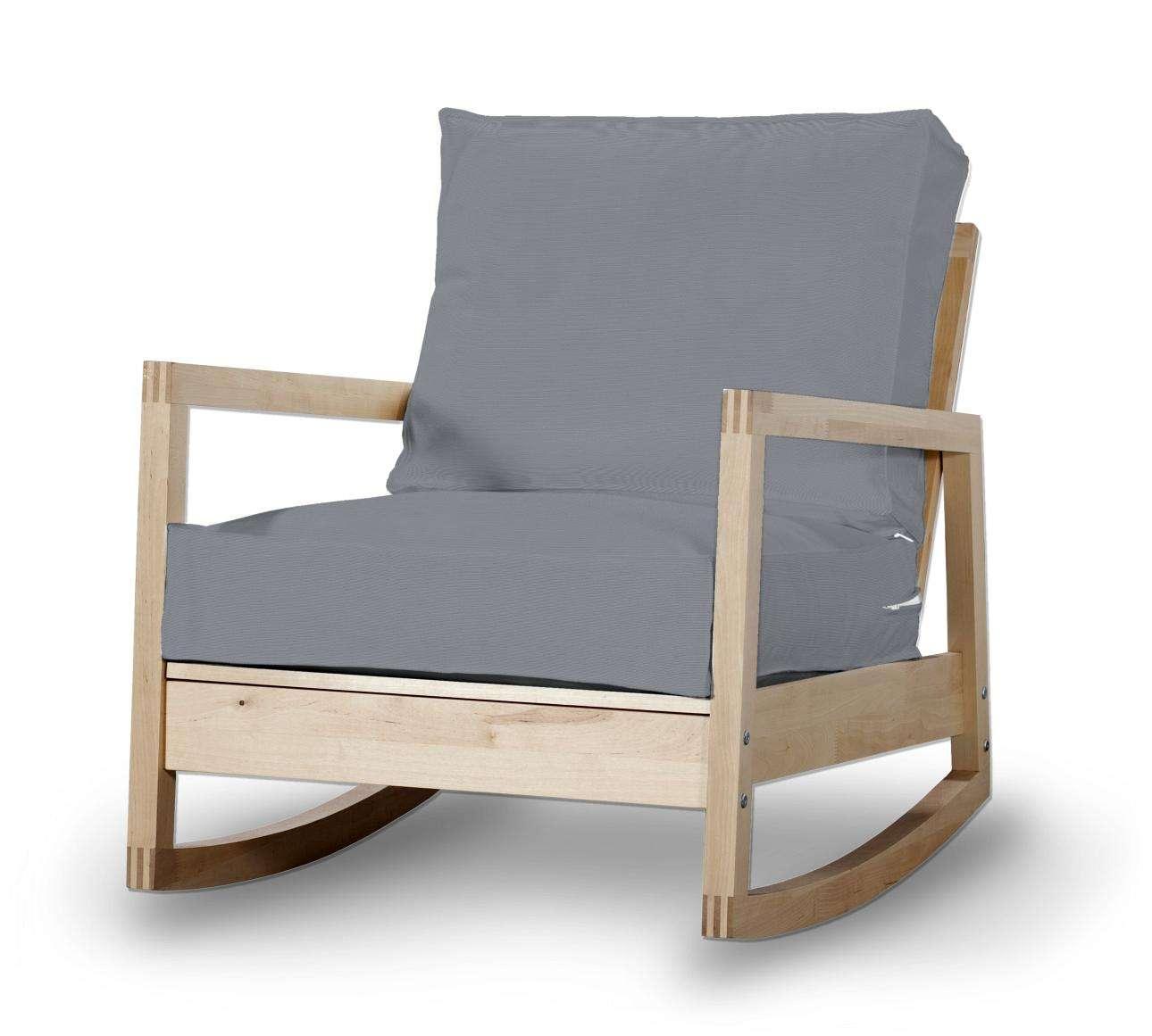 Pokrowiec na fotel Lillberg w kolekcji Cotton Panama, tkanina: 702-07
