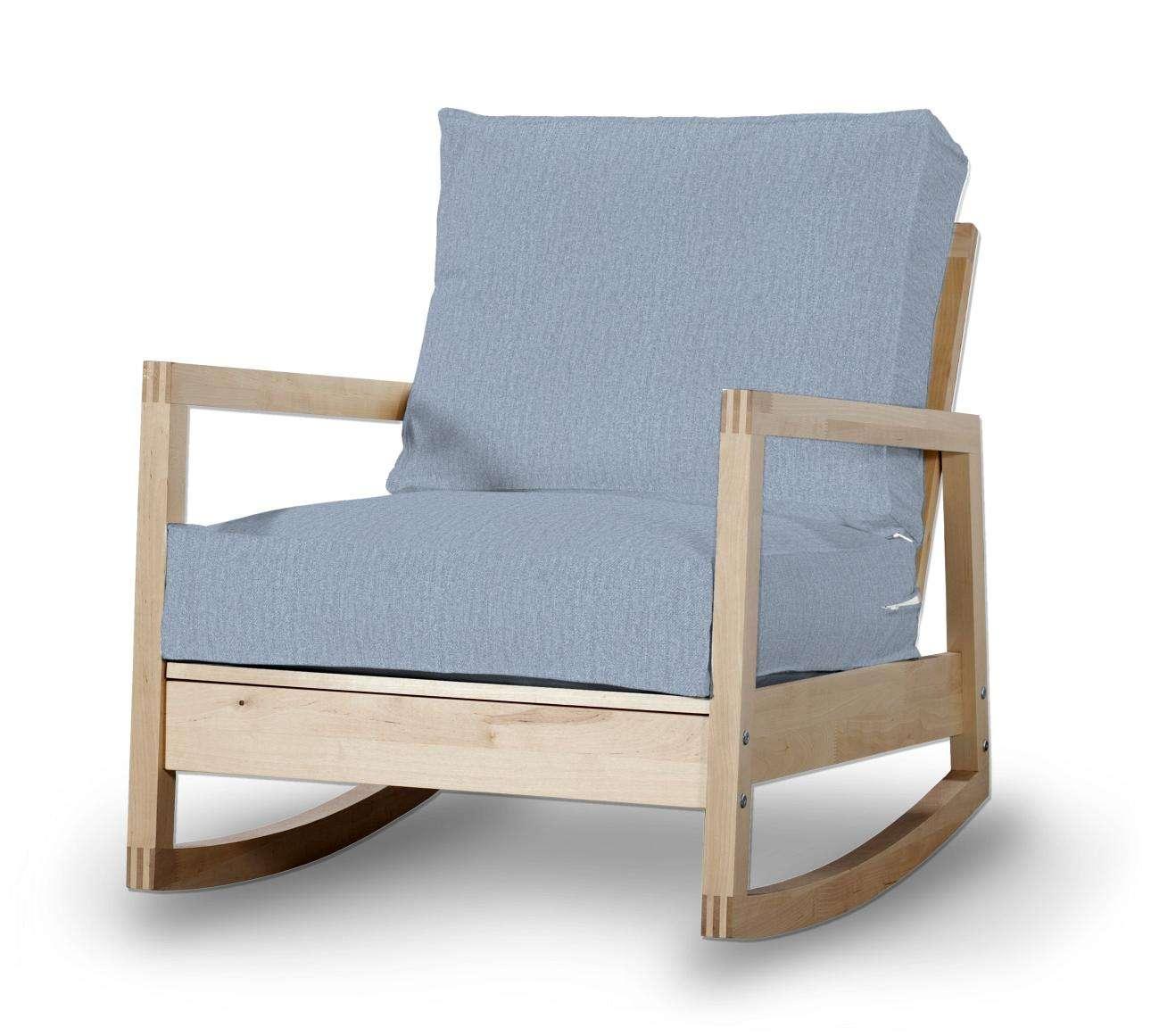 Lillberg Sesselbezug Sesselhusse, Modell Lillberg von der Kollektion Chenille , Stoff: 702-13