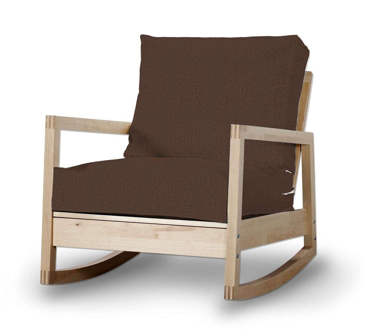 Pokrowiec na fotel Lillberg w kolekcji Chenille, tkanina: 702-18