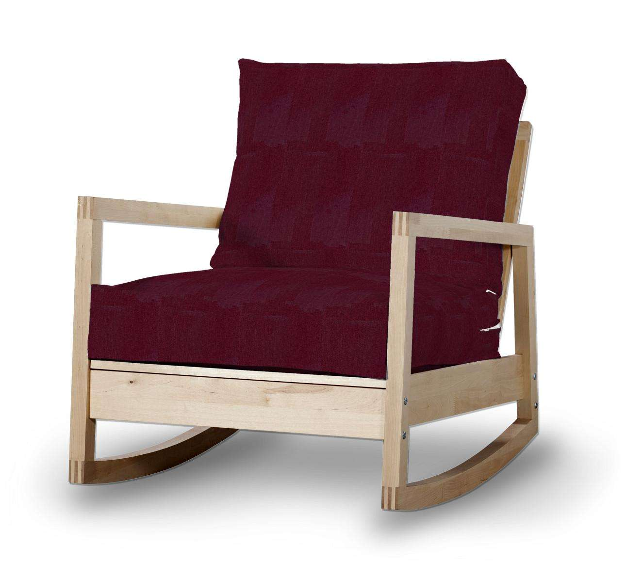 Lillberg Sesselbezug Sesselhusse, Modell Lillberg von der Kollektion Chenille , Stoff: 702-19
