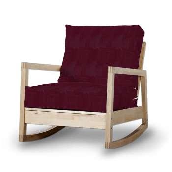 Pokrowiec na fotel Lillberg w kolekcji Chenille, tkanina: 702-19