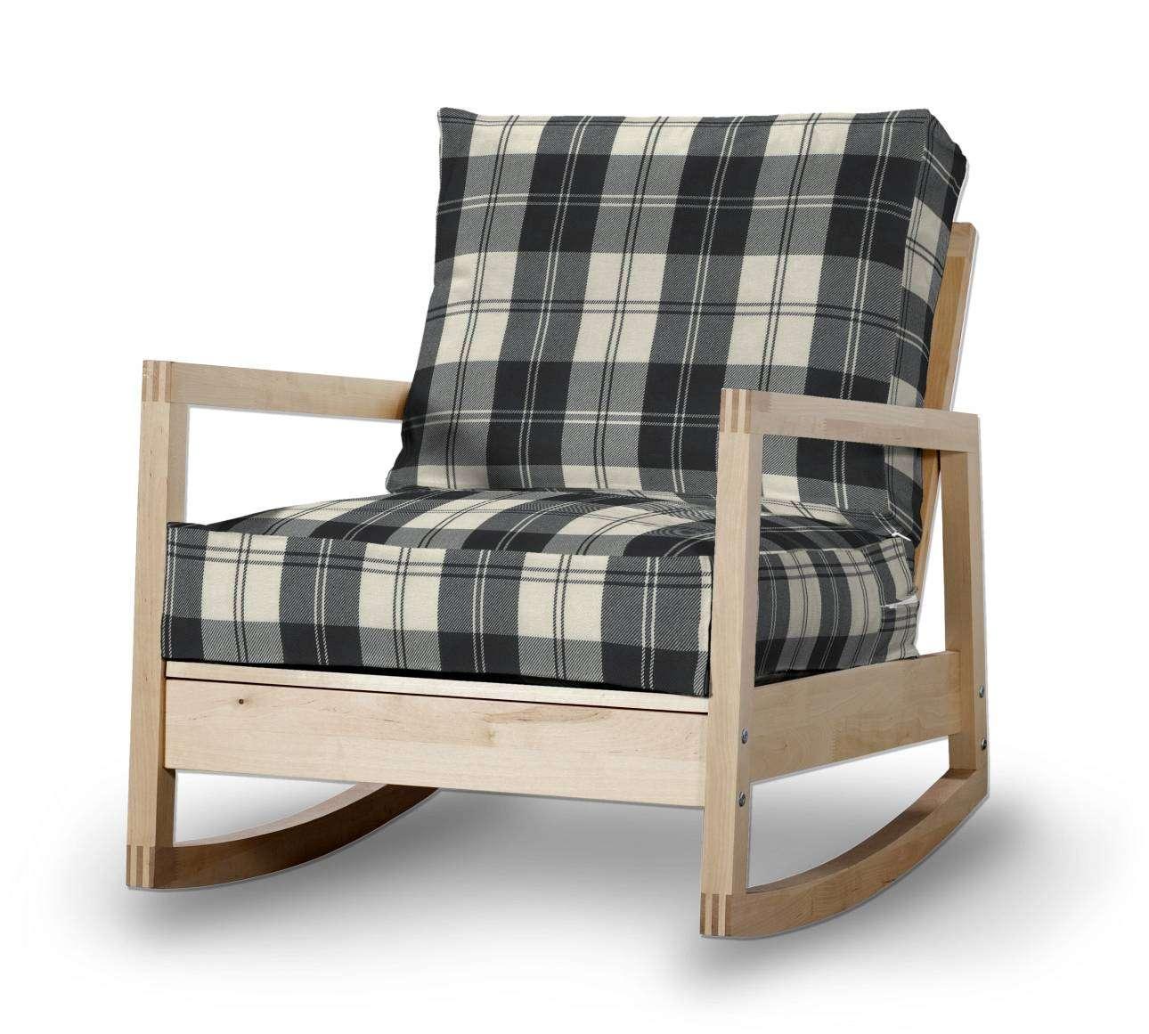 Pokrowiec na fotel Lillberg w kolekcji Edinburgh, tkanina: 115-74