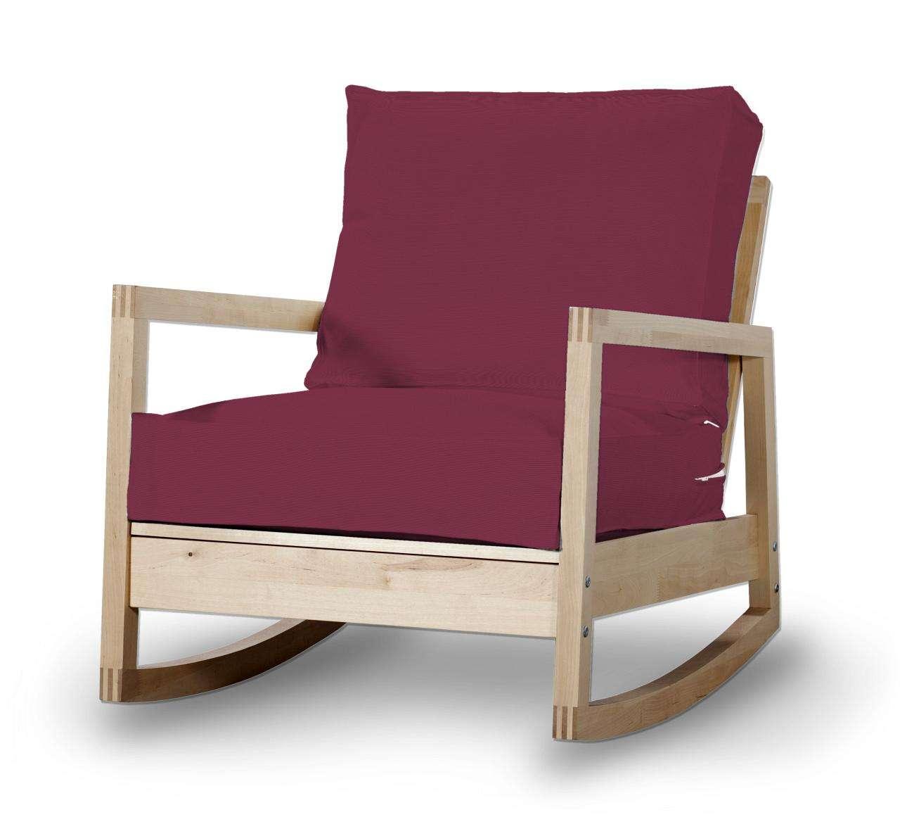 Pokrowiec na fotel Lillberg w kolekcji Cotton Panama, tkanina: 702-32