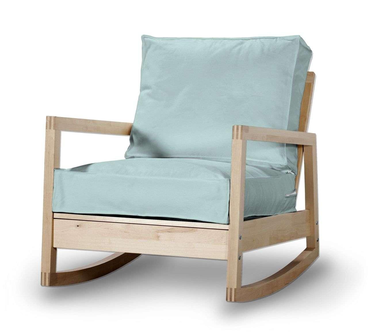 Pokrowiec na fotel Lillberg w kolekcji Cotton Panama, tkanina: 702-10