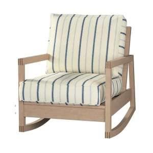 Pokrowiec na fotel Lillberg Fotel Lillberg w kolekcji Avinon, tkanina: 129-66