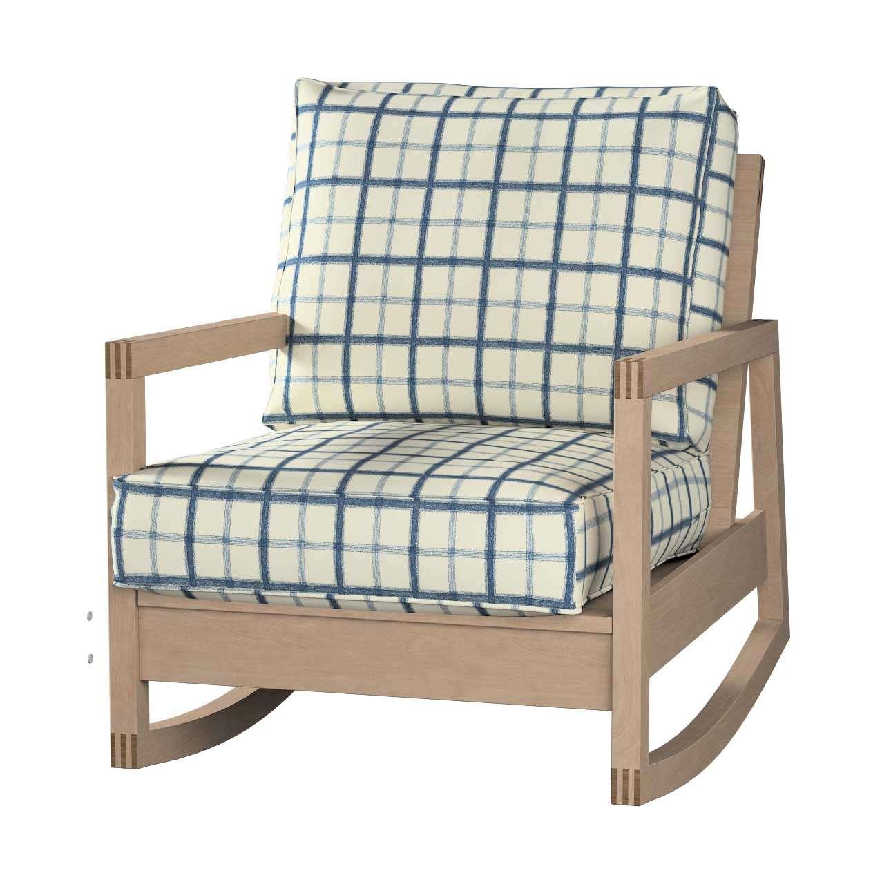 Pokrowiec na fotel Lillberg Fotel Lillberg w kolekcji Avinon, tkanina: 131-66