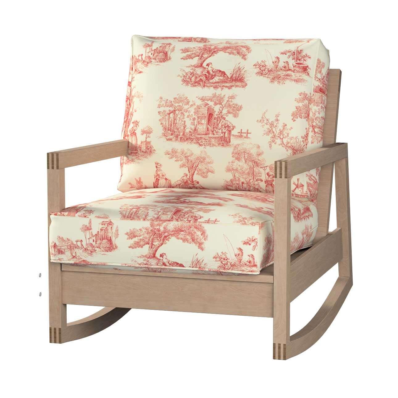 Pokrowiec na fotel Lillberg w kolekcji Avinon, tkanina: 132-15