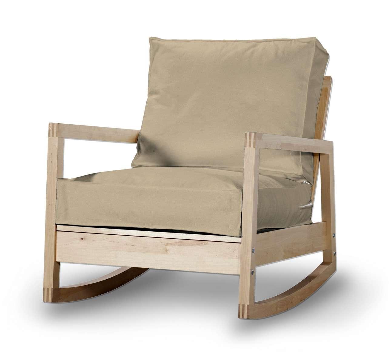 Pokrowiec na fotel Lillberg w kolekcji Living, tkanina: 160-82