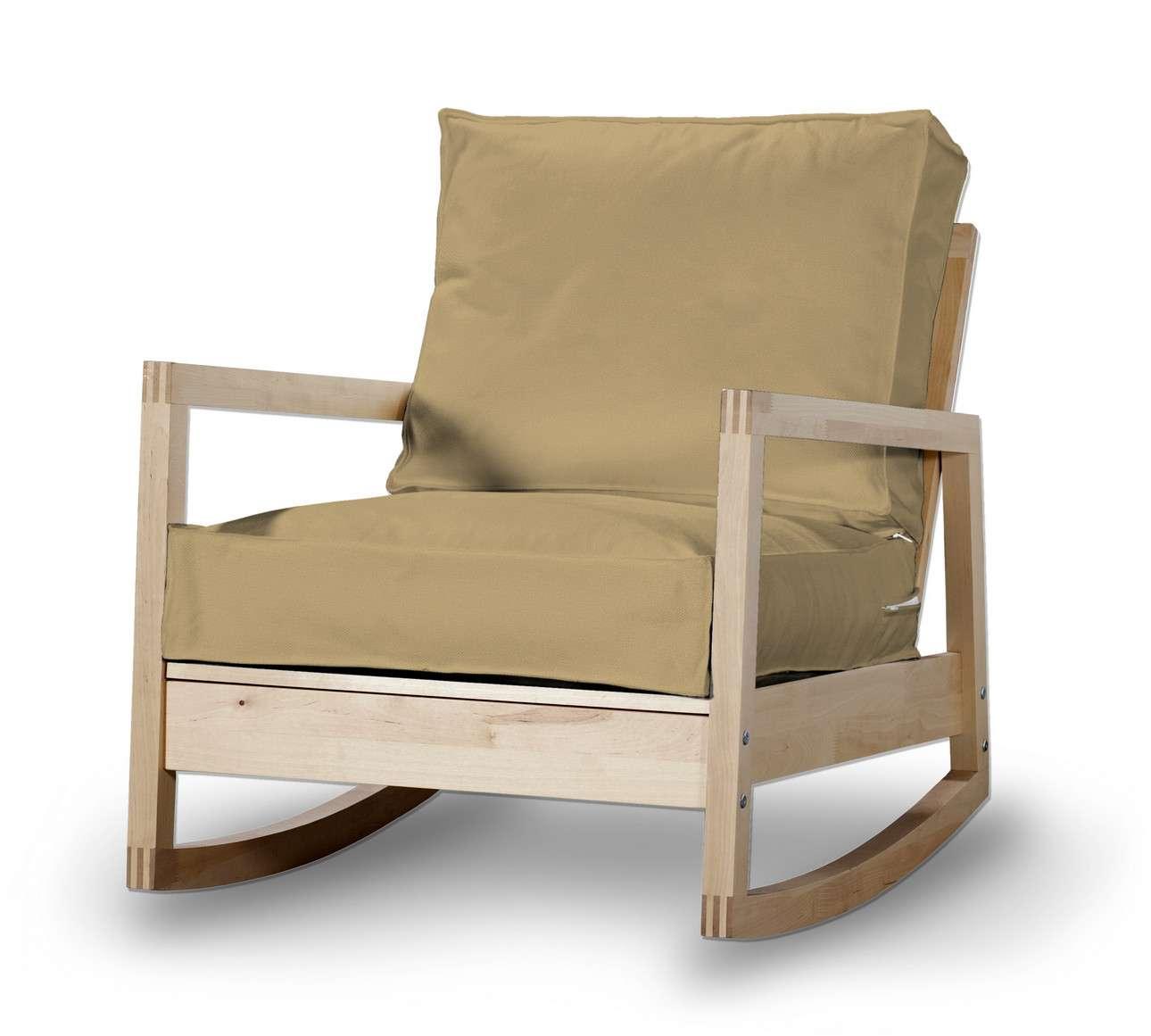 Pokrowiec na fotel Lillberg w kolekcji Living, tkanina: 160-93