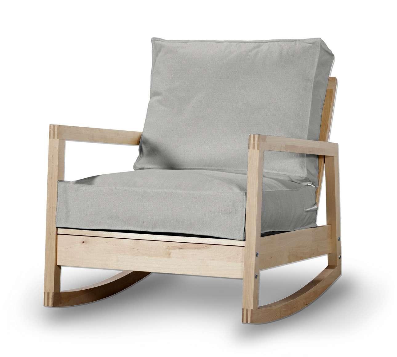 Pokrowiec na fotel Lillberg w kolekcji Living, tkanina: 161-18