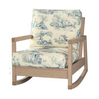 Pokrowiec na fotel Lillberg w kolekcji Avinon, tkanina: 132-66