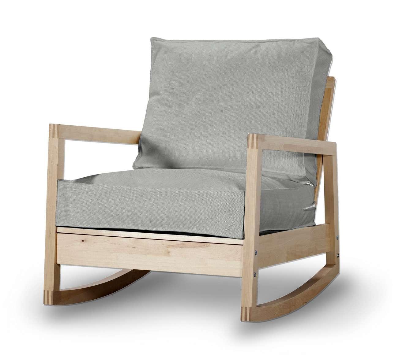 Pokrowiec na fotel Lillberg w kolekcji Bergen, tkanina: 161-72