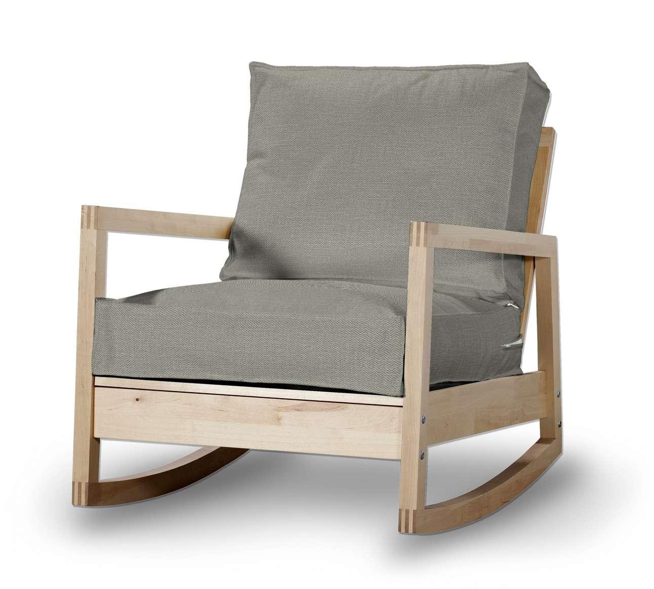 Pokrowiec na fotel Lillberg w kolekcji Bergen, tkanina: 161-83