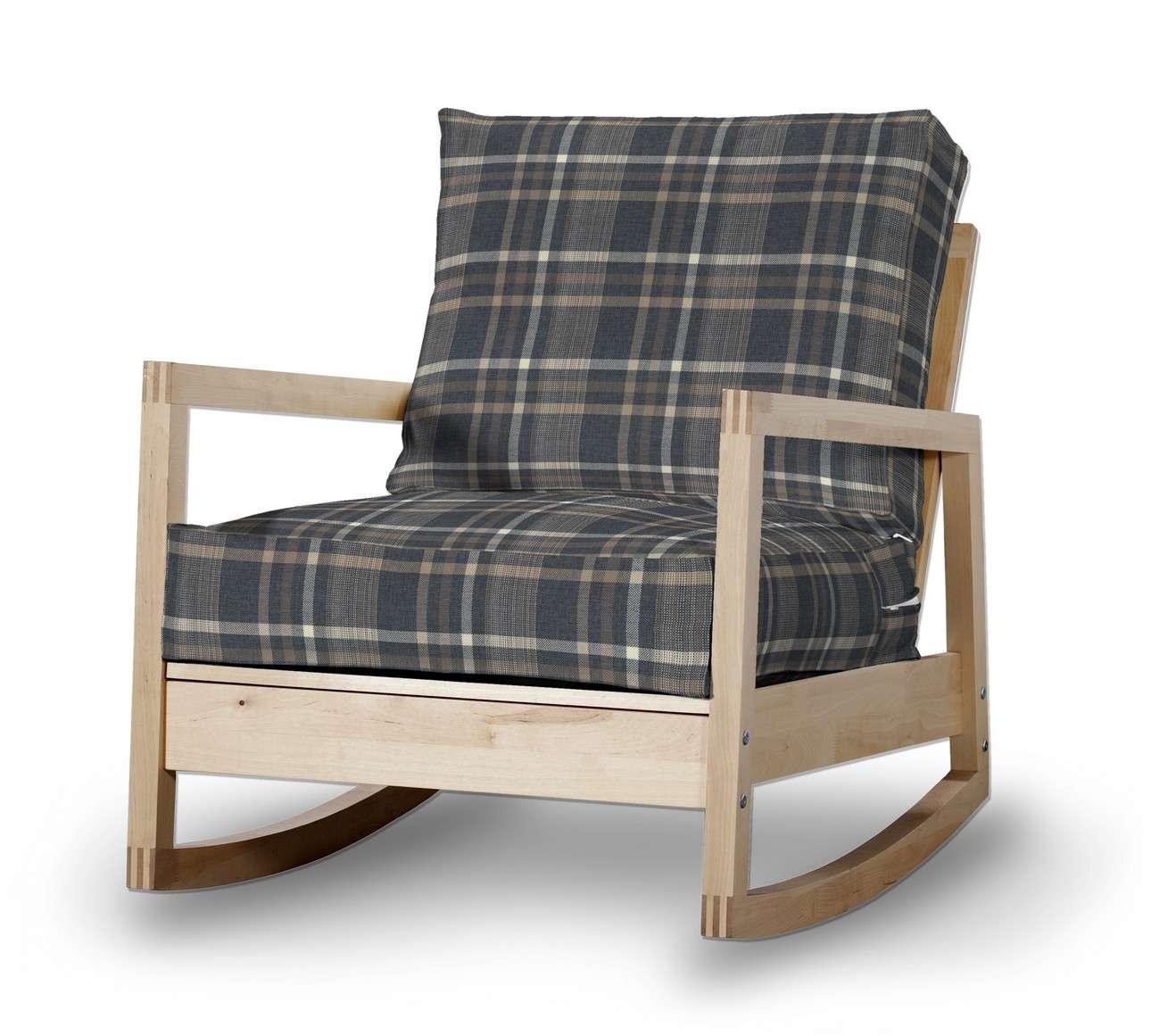 Pokrowiec na fotel Lillberg w kolekcji Edinburgh, tkanina: 703-16