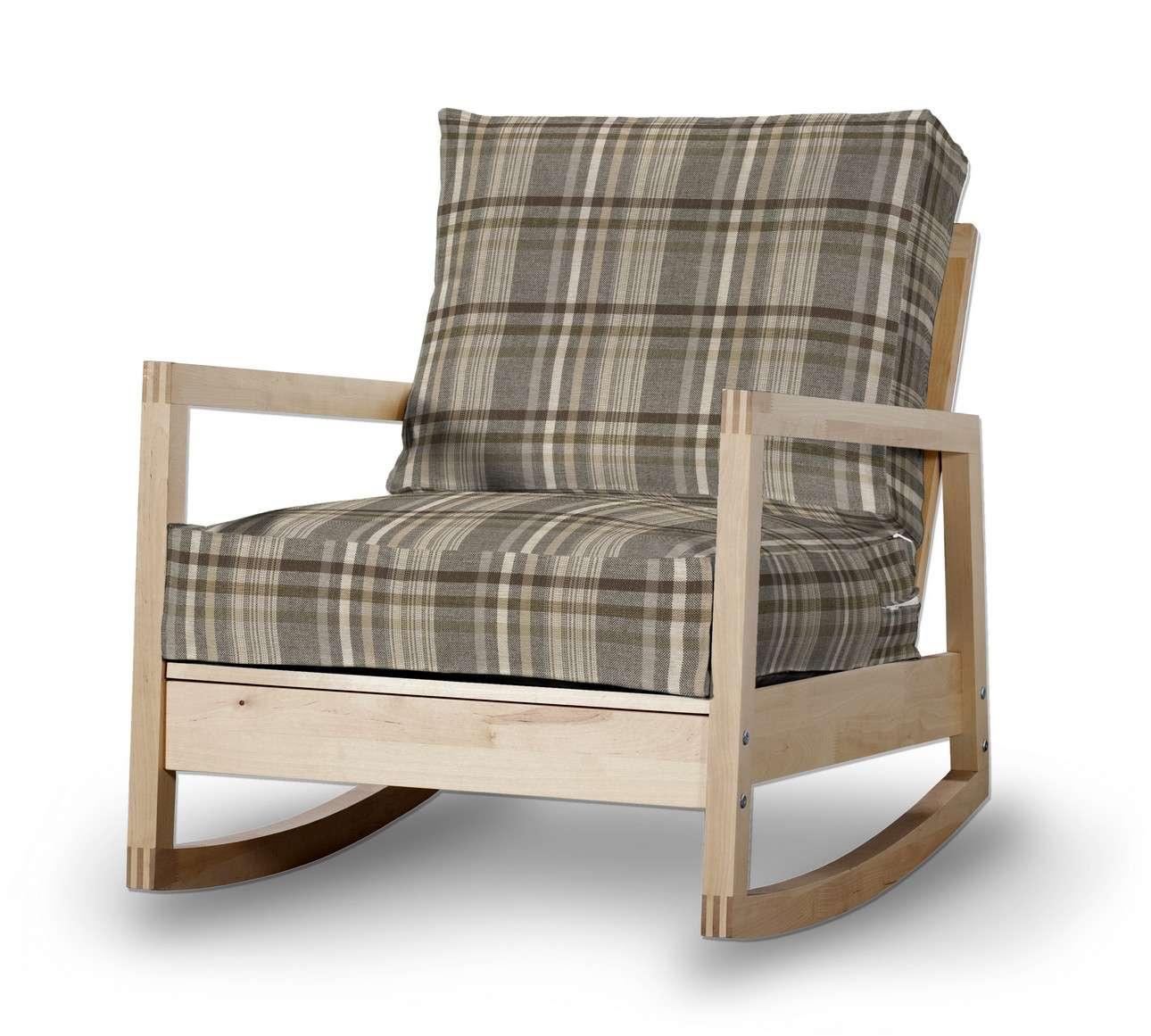 Pokrowiec na fotel Lillberg w kolekcji Edinburgh, tkanina: 703-17