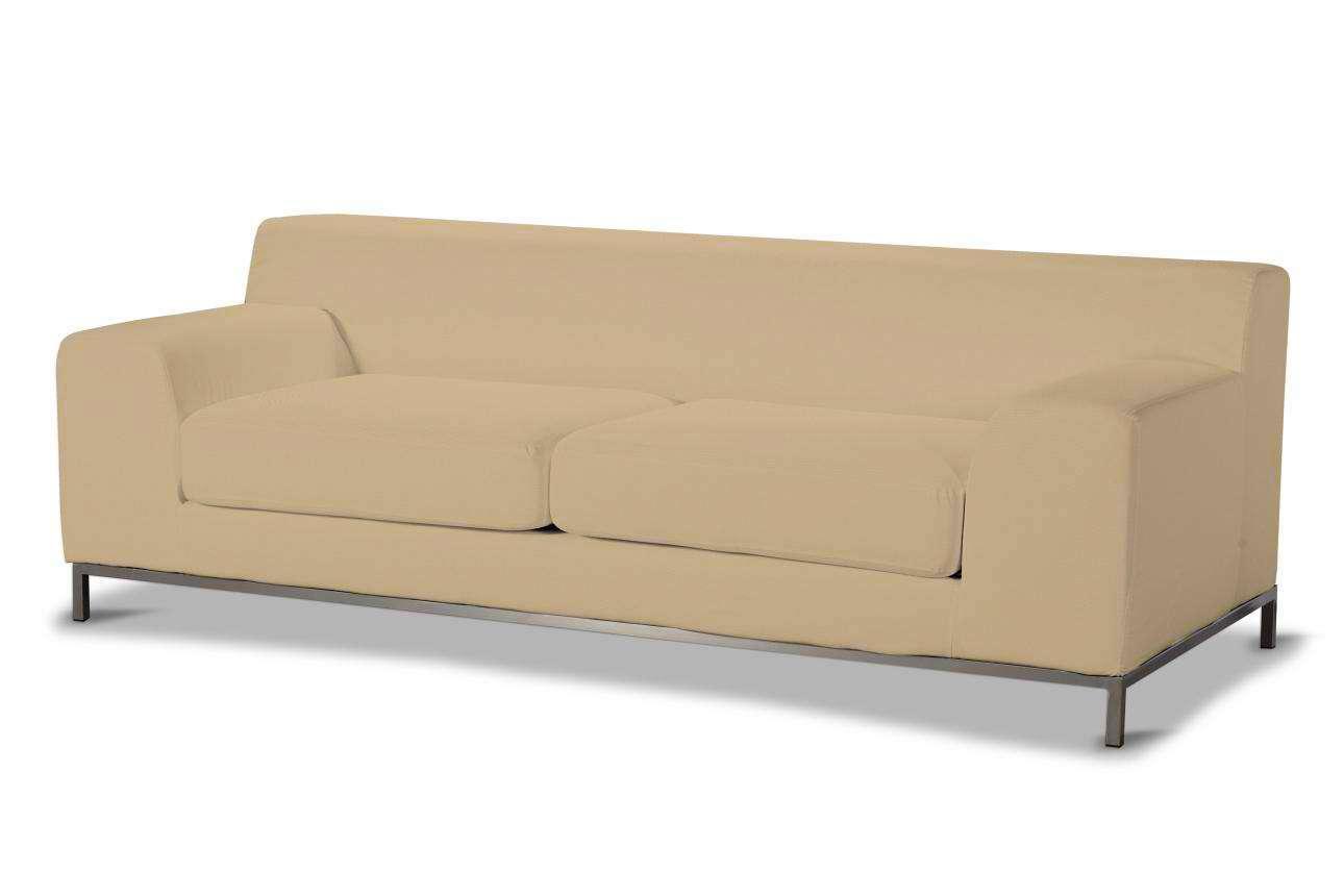 Pokrowiec na sofę Kramfors 3-osobowa Sofa Kramfors 3-osobowa w kolekcji Cotton Panama, tkanina: 702-01