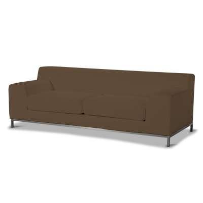 Pokrowiec na sofę Kramfors 3-osobowa w kolekcji Cotton Panama, tkanina: 702-02