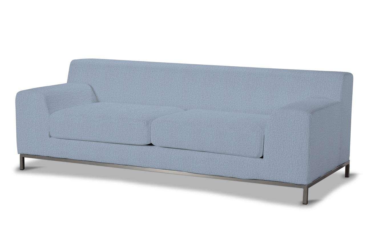 Pokrowiec na sofę Kramfors 3-osobowa w kolekcji Chenille, tkanina: 702-13