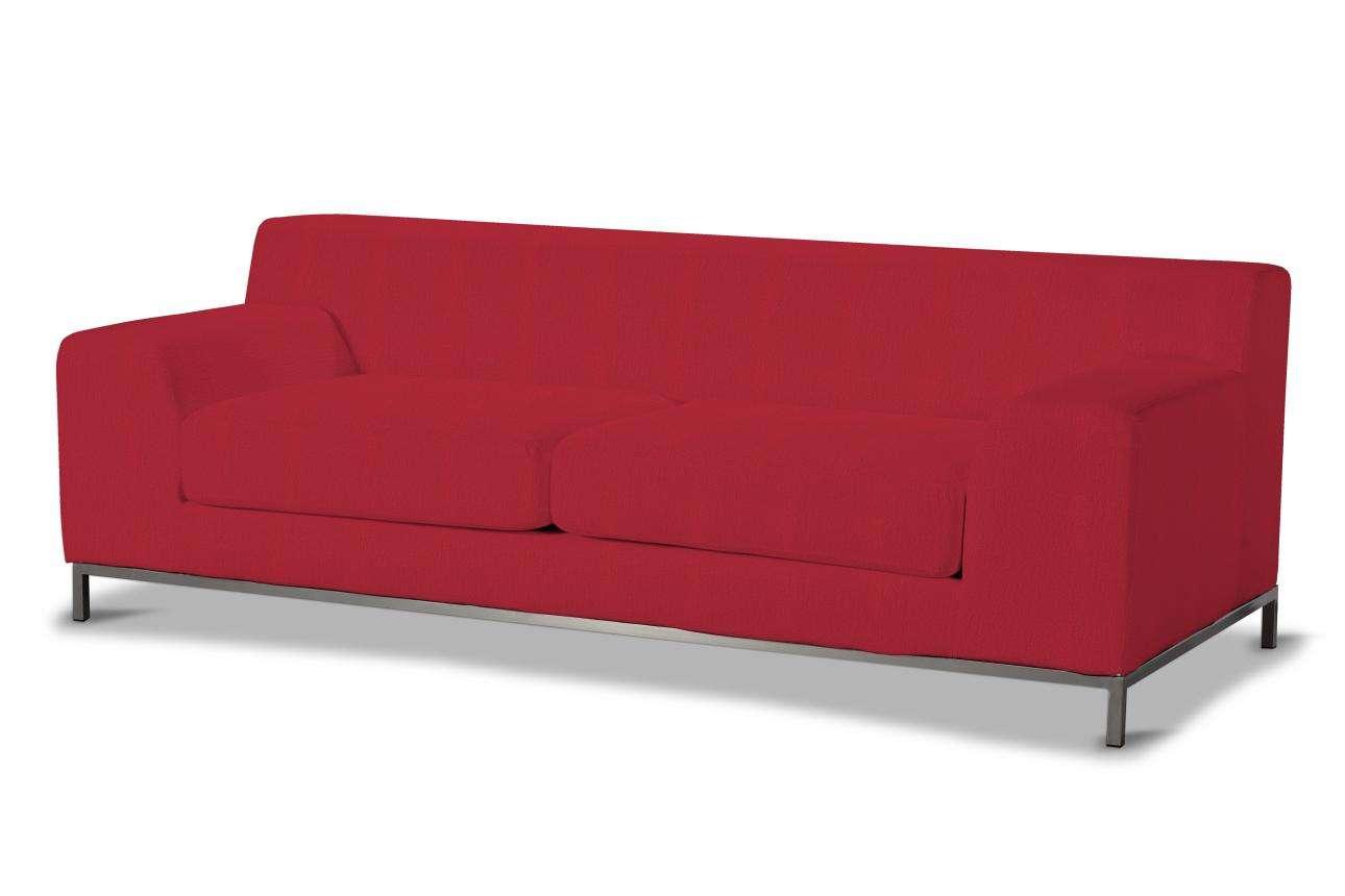 Pokrowiec na sofę Kramfors 3-osobowa w kolekcji Chenille, tkanina: 702-24